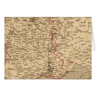 La Francia 1589 un 1643 Tarjeta