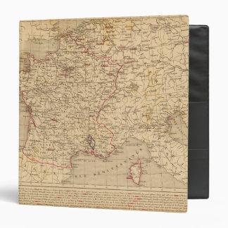 """La Francia 1715 un 1774 Carpeta 1 1/2"""""""