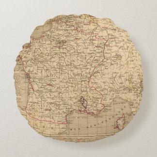 La Francia 1715 un 1774 Cojín Redondo