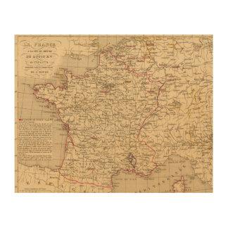 La Francia 1715 un 1774 Cuadros De Madera