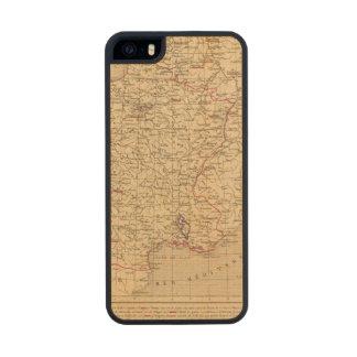 La Francia 1715 un 1774 Funda De Arce Carved® Para iPhone 5 Slim
