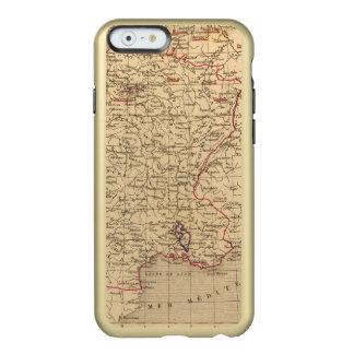 La Francia 1715 un 1774 Funda Para iPhone 6 Plus Incipio Feather Shine