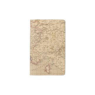 La Francia 1715 un 1774 Funda Para Libreta Y Libreta Pequeña Moleskine