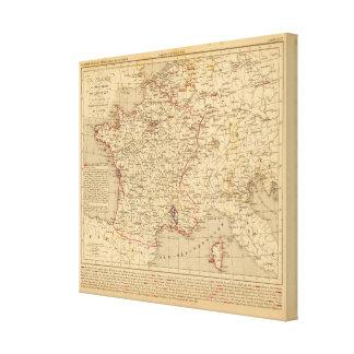 La Francia 1715 un 1774 Lona Estirada Galerías