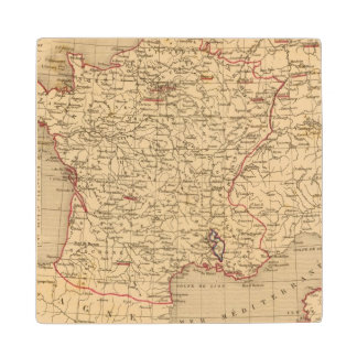 La Francia 1715 un 1774 Posavasos De Arce