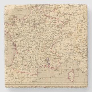 La Francia 1715 un 1774 Posavasos De Piedra
