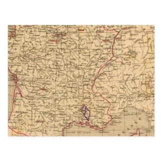 La Francia 1715 un 1774 Postal