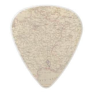 La Francia 1715 un 1774 Púa De Guitarra Acetal