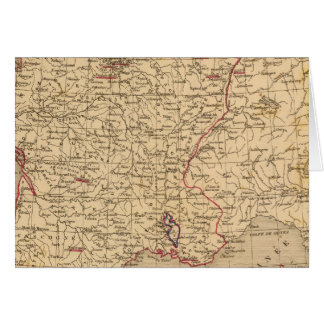 La Francia 1715 un 1774 Tarjeta De Felicitación
