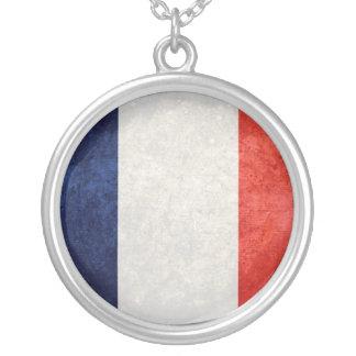 La Francia de Drapeau de Colgante Redondo