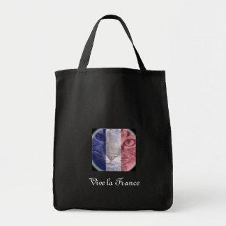 La Francia de Vive Bolsa Tela Para La Compra