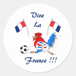 La Francia de Vive Etiquetas Redondas
