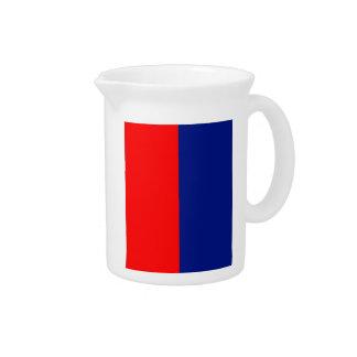 LA FRANCIA STRIPE20 tricolor de VIVE Jarra