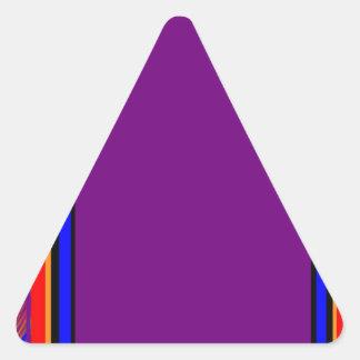 La frontera DIY fácil de la plantilla añade CITA Calcomanía Triangulo Personalizadas