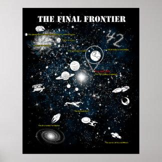 La frontera final póster