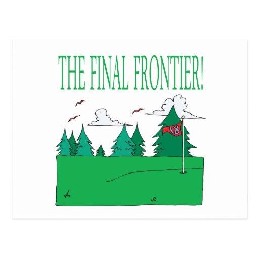 La frontera final tarjetas postales