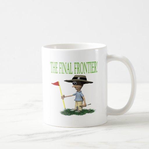 La frontera final tazas de café