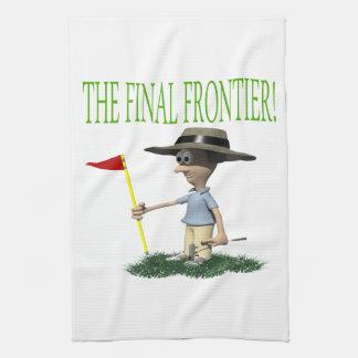 La frontera final toalla de cocina