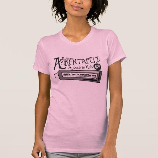 La frotación ancestral de Ahnentafel Camisas