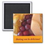 ¡la fruta, adietando puede ser deliciosa! imán