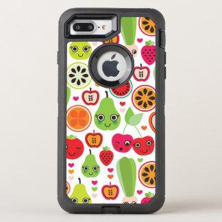 la fruta embroma la manzana del ejemplo funda OtterBox defender para iPhone 7 plus