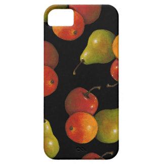 La fruta en negro, engrasa el arte en colores funda para iPhone SE/5/5s