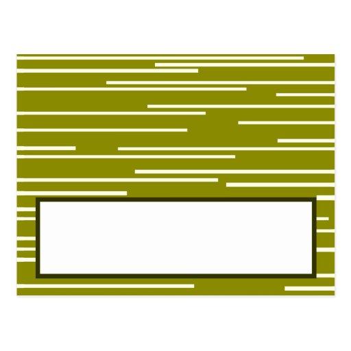 La fruta programable de la pera del verde de la ta postales