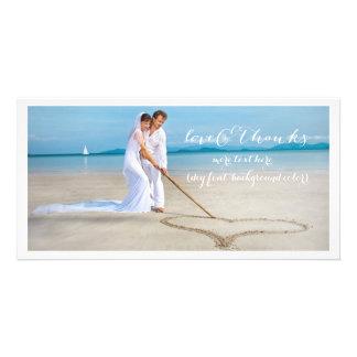La fuente de la foto DIY del boda de PixDezines le Tarjetas Fotograficas Personalizadas