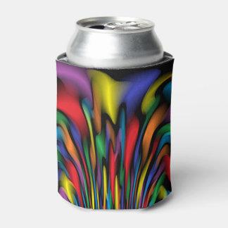 La fuente del arco iris puede o el refrigerador de enfriador de latas