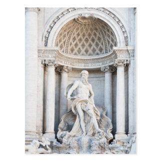 La fuente del Trevi (italiano: Fontana di Trevi) 3 Postales