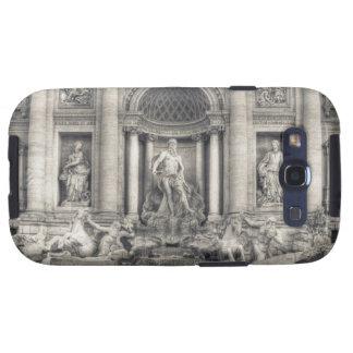 La fuente del Trevi (italiano: Fontana di Trevi) 4 Samsung Galaxy S3 Carcasas