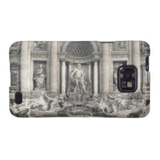 La fuente del Trevi (italiano: Fontana di Trevi) 4 Samsung Galaxy S2 Funda