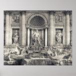 La fuente del Trevi (italiano: Fontana di Trevi) 4 Impresiones