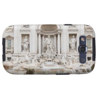 La fuente del Trevi (italiano: Fontana di Trevi) Galaxy SIII Protectores