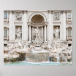 La fuente del Trevi (italiano: Fontana di Trevi) Poster