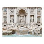 La fuente del Trevi (italiano: Fontana di Trevi) Postal