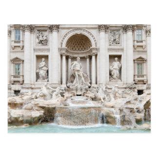 La fuente del Trevi (italiano: Fontana di Trevi) Postales