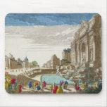 La fuente del Trevi, Roma Mouse Pads