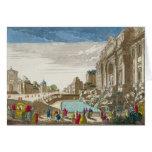 La fuente del Trevi, Roma Tarjeta De Felicitación