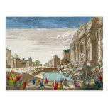 La fuente del Trevi, Roma Tarjetas Postales