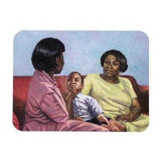 La fuerza 2001 de una madre iman rectangular