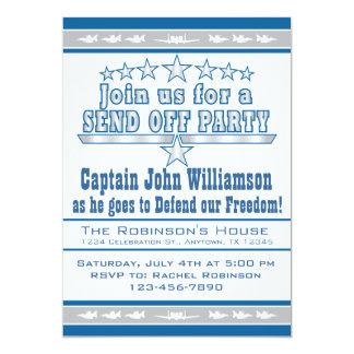La fuerza aérea envía de la invitación del fiesta