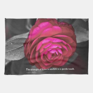 La fuerza del amor se habla… toalla