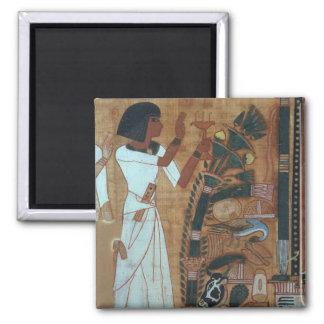 La fumigación de Osiris, página del libro del th Imán Cuadrado