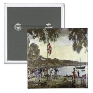 La fundación de Australia de capitán Arturo Pins