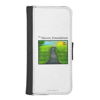 La fundación del asilo fundas tipo billetera para iPhone 5