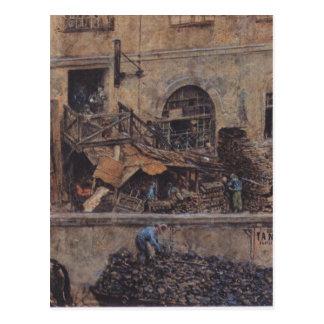 La fundición de hierro en Kitschelt Skodagasse en Postal