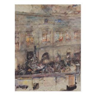 La fundición de hierro en Kitschelt Skodagasse en Tarjetas Postales