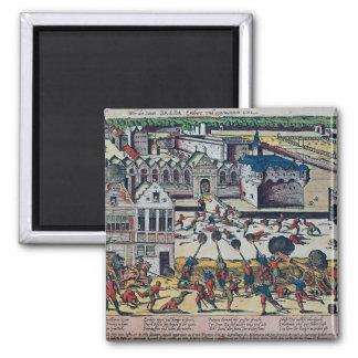 La furia de Haultepenne en 1581 Imán De Frigorifico