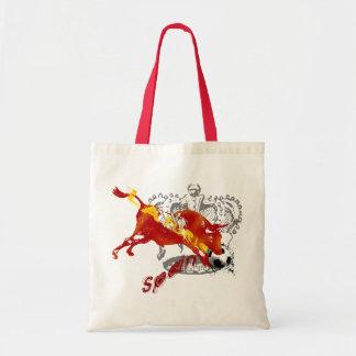La Furia España Toro Artwork gifts and tees Tote Bags